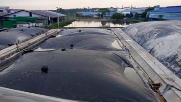 POME-MAS™  APPLICATION  Lagoon Digester System @ Malpom Biogas Power Plant Project